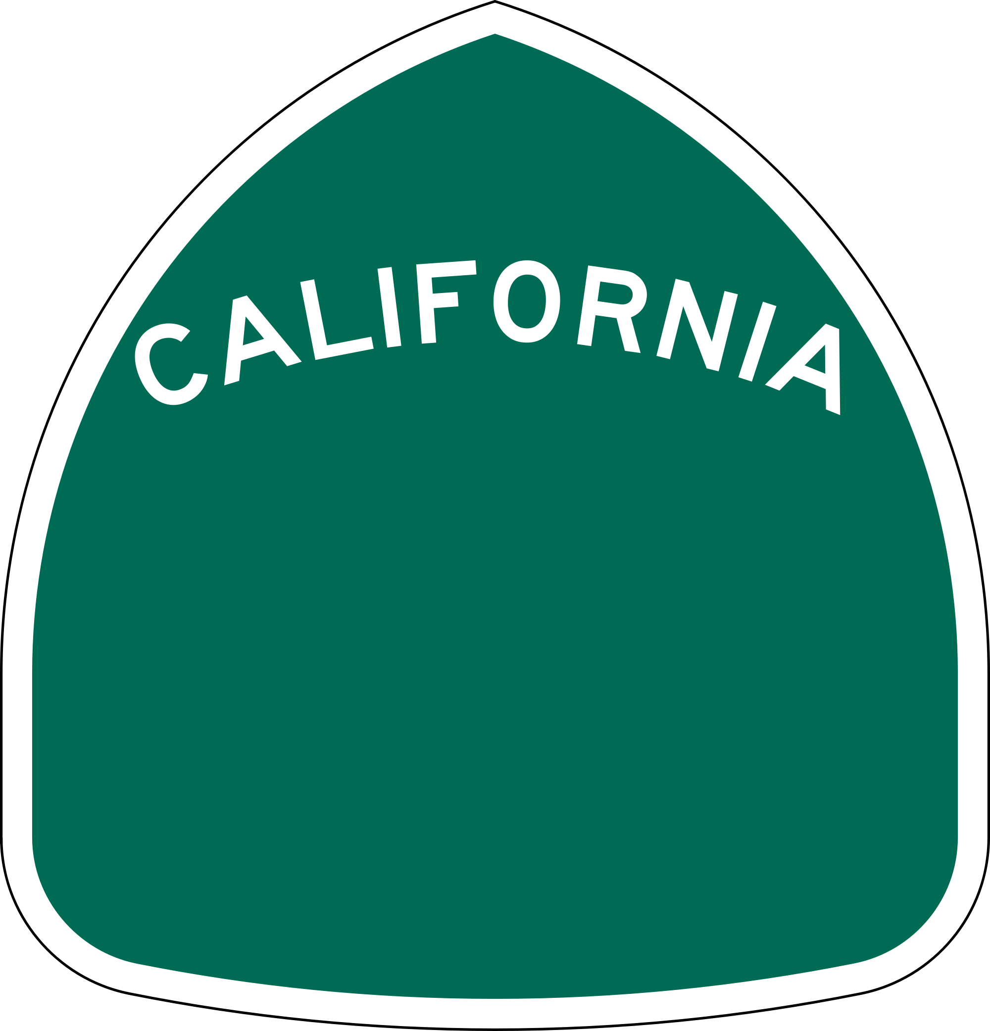 california svg transparent