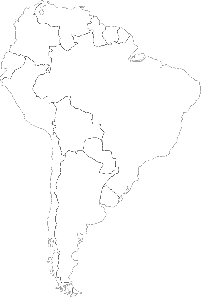 blank map of north america png