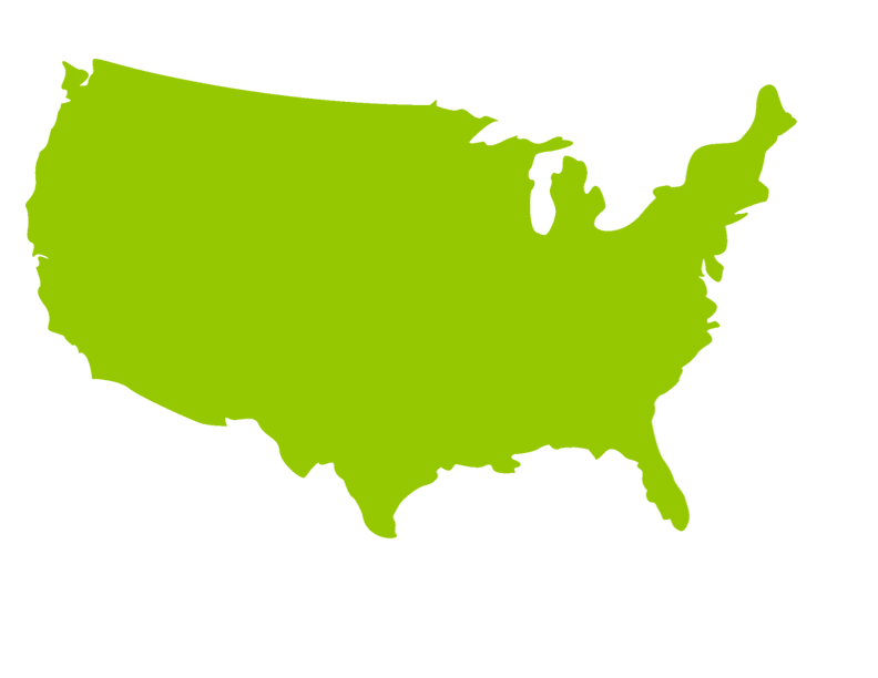 States Vector Map United Transparent & PNG Clipart Free Download ...
