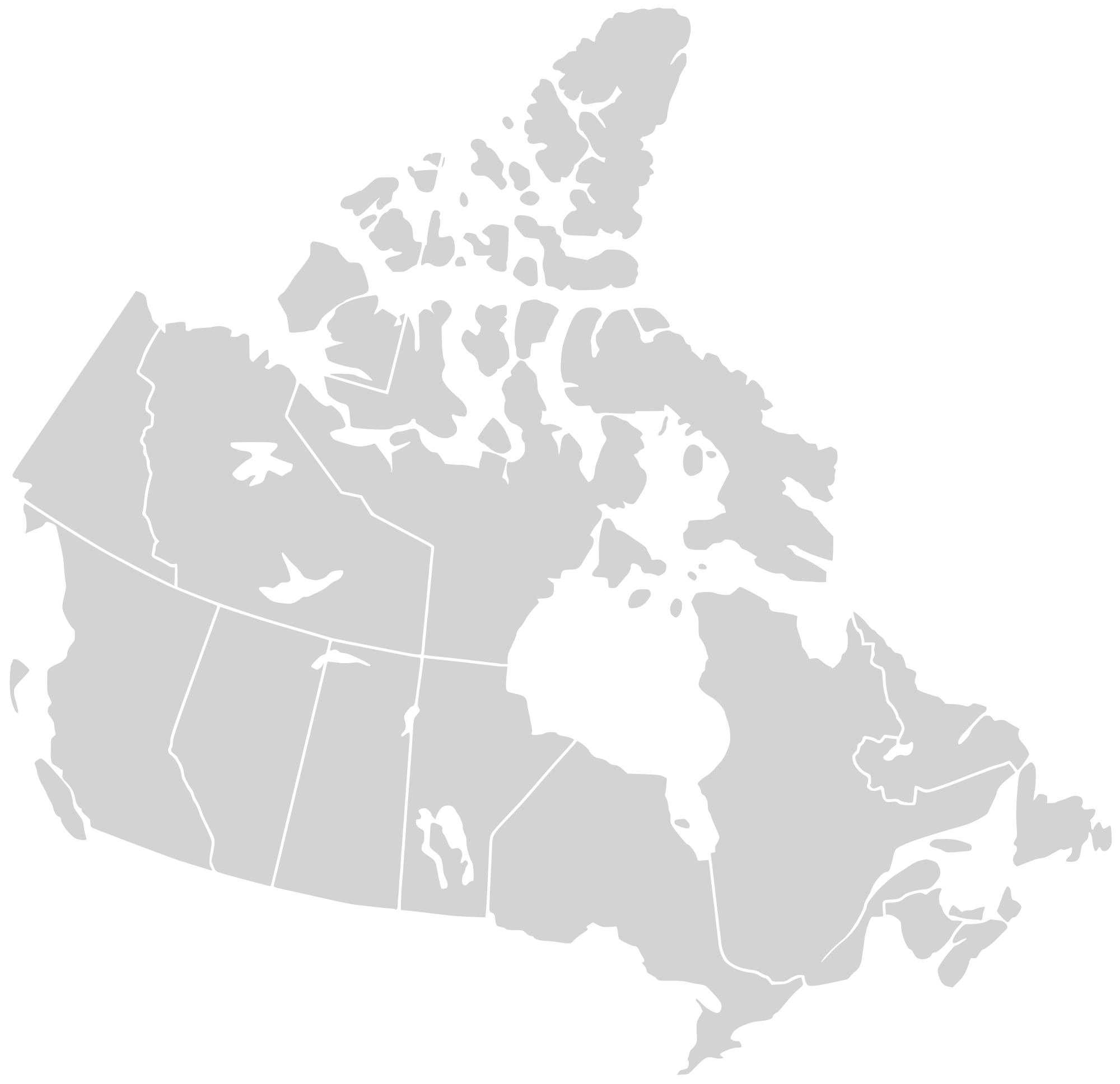 canada map png