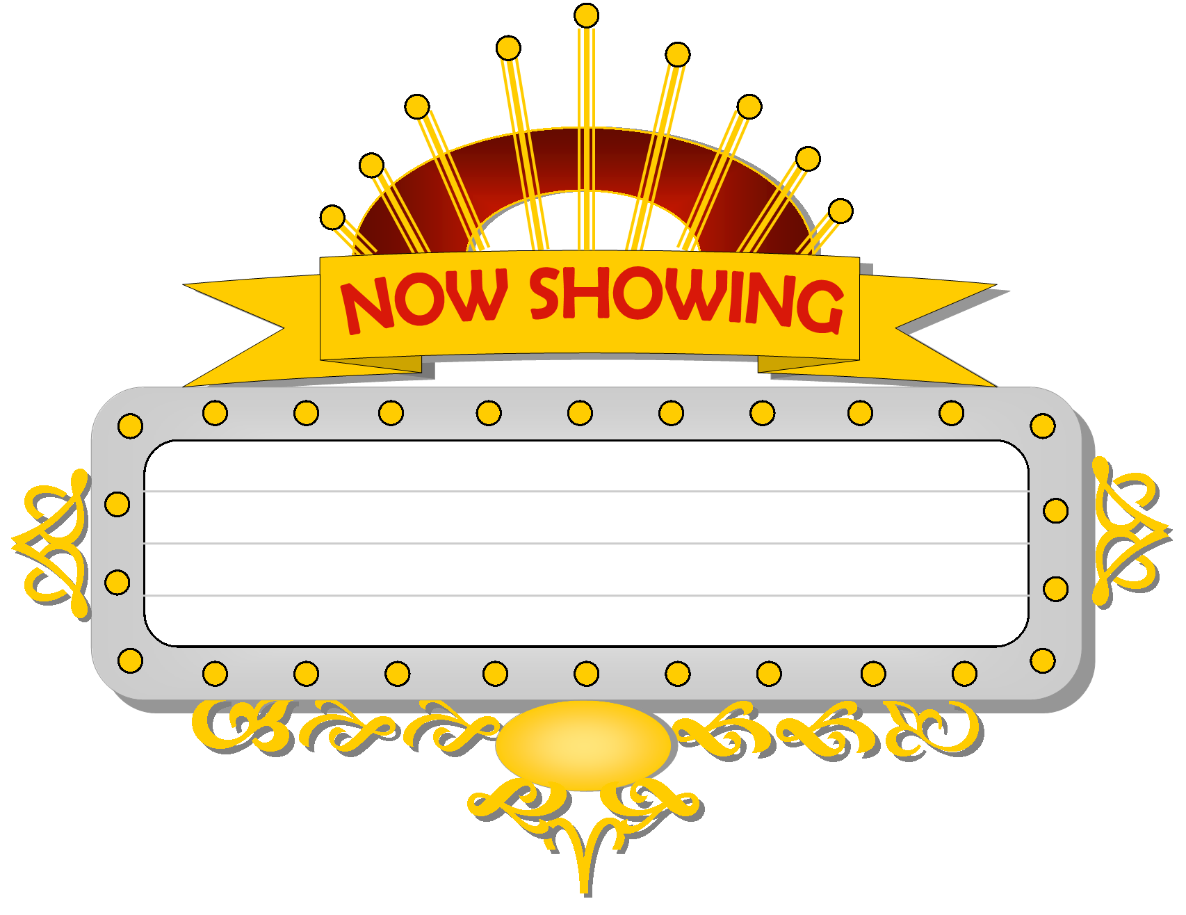 marquee sign png