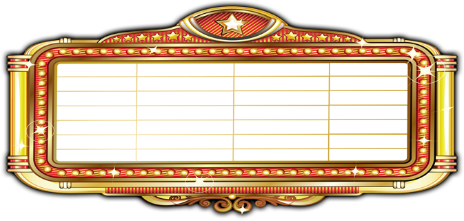 Movie marquee png. Collection of coming