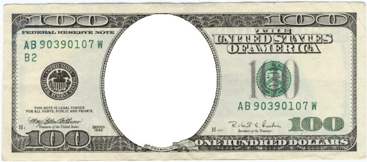 Blank money png. This website has templates