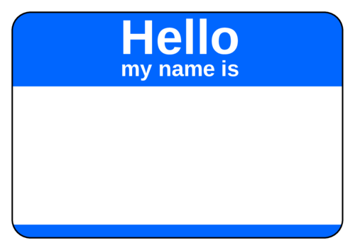 Holiday name tags png. Tag label templates hello