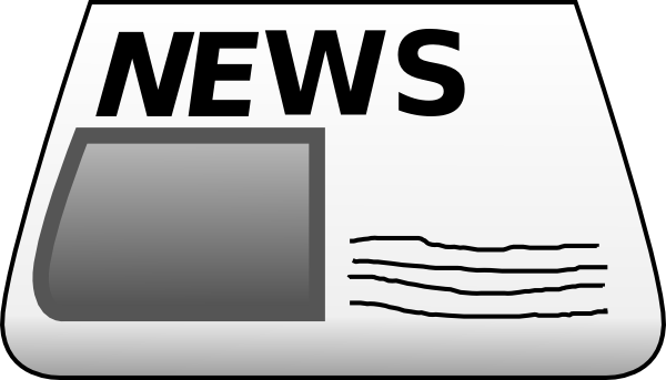 Blank newspaper png transparent. Collection of clipart