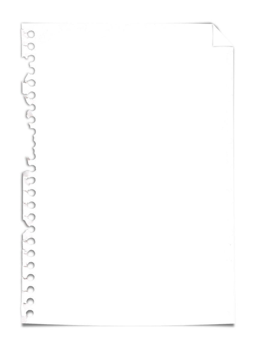 Torn notebook paper png. Free download clip art