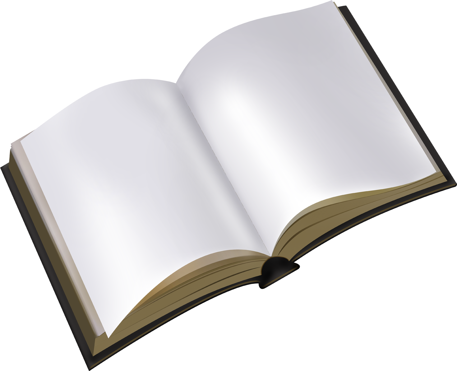 Blank open book png. No background fast lunchrock