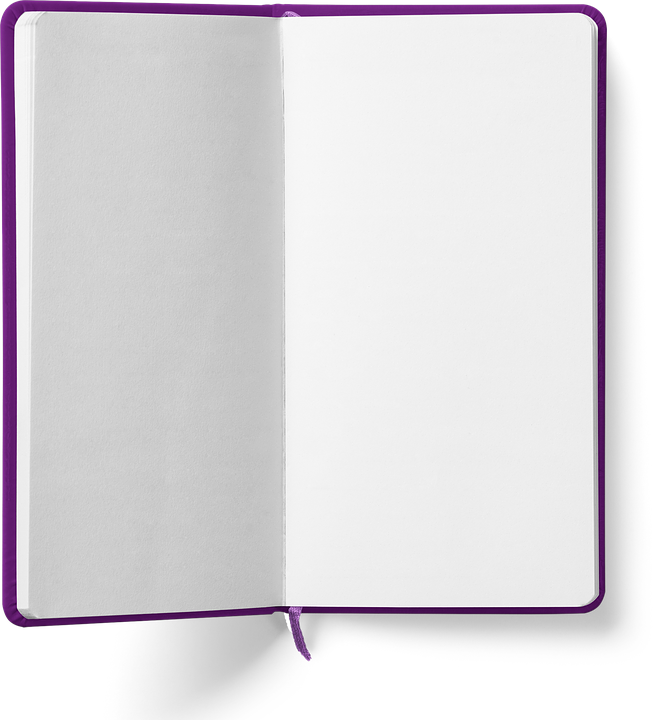 Blank open book png. Free photo white empty