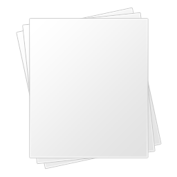 White paper png. Royalty free stock images