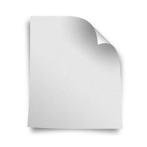 White paper png. Blank icons free icon
