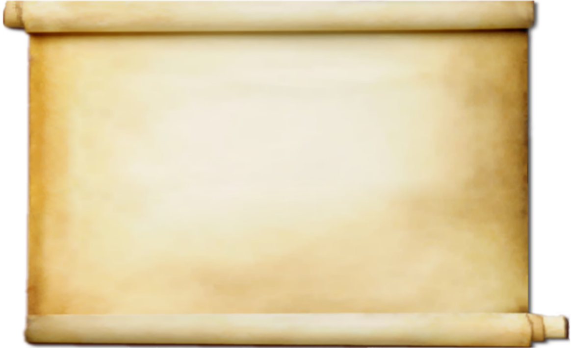 Blank parchment png. Scroll hd transparent images