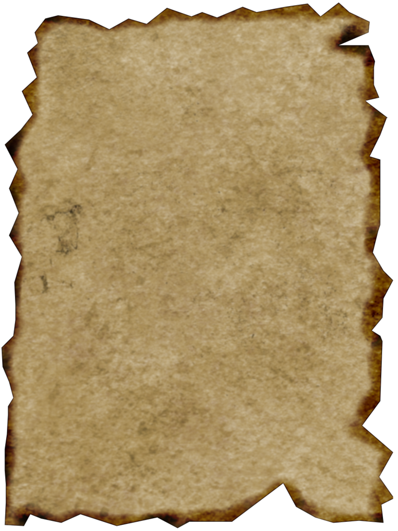Parchment png. Burnt edge by captainjackharkness