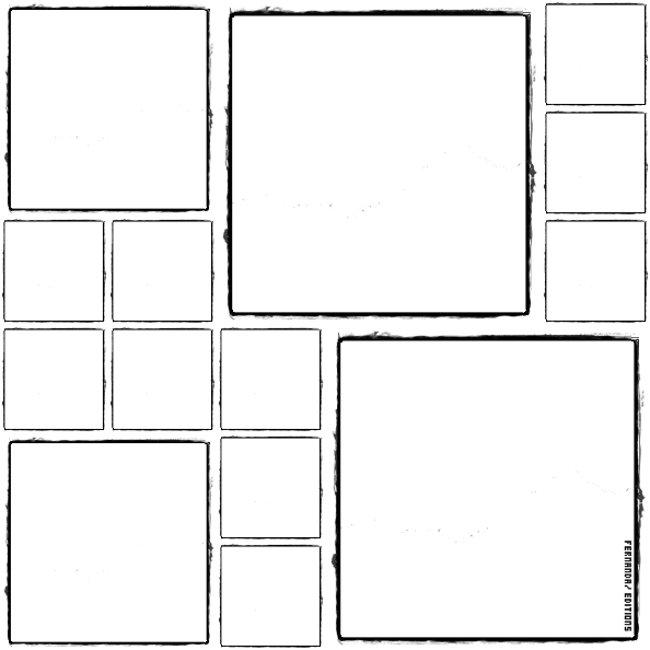 Blank photo frames collage png. By jamilexchocolatina pattern pinterest vector black and white
