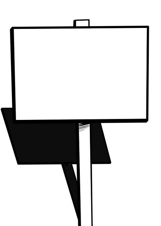Blank picket sign png. Protest cliparts free download