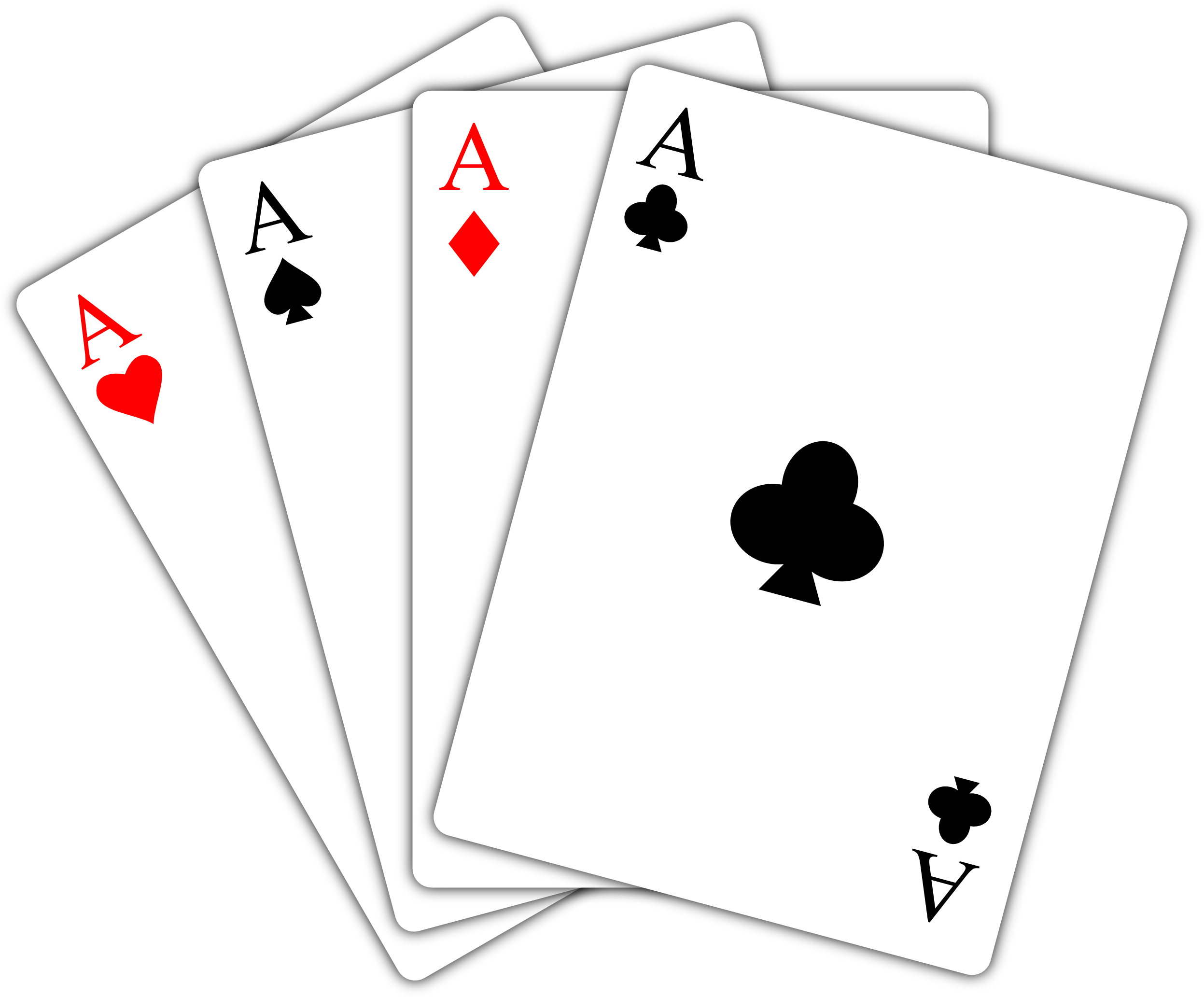 Playing hd transparent images. Cards .png png graphic black and white library