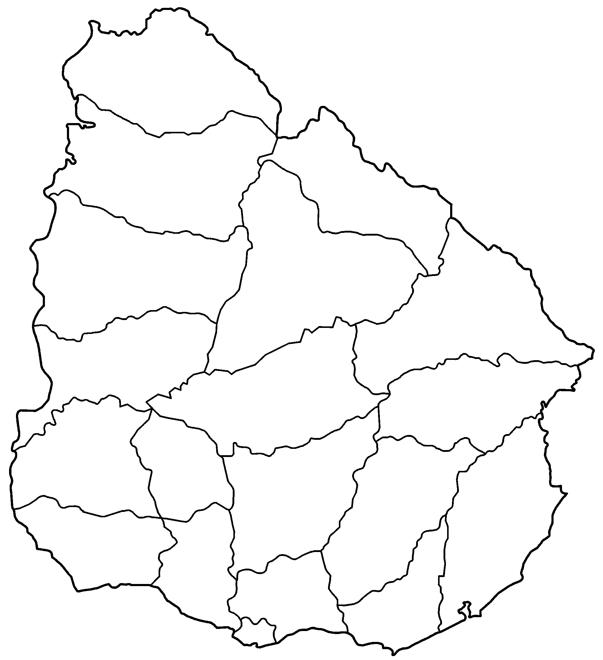 File uruguay departments wikimedia. Blank png picture black and white
