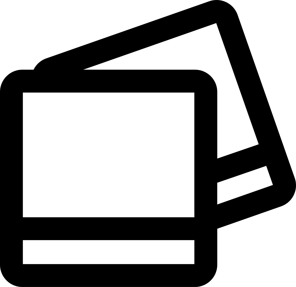 Blank polaroid picture png. Pictures svg icon free