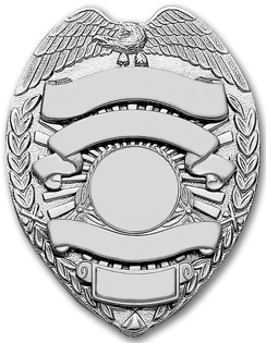 Blank badge png. Police image