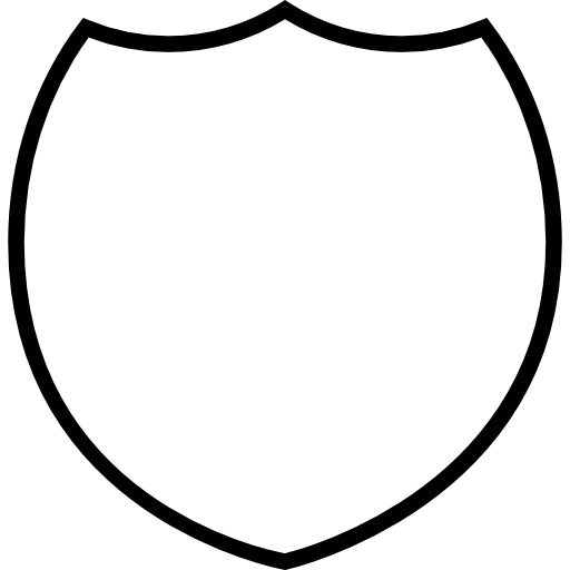 Blank police badge png. Free signs icons icon
