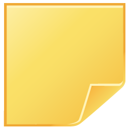 Blank post it png. Postit paper file note