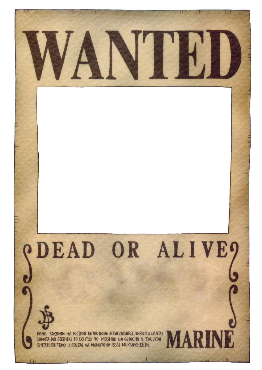 wanted transparent old