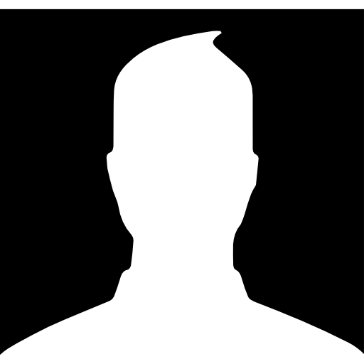 Customer vector default user. Male profile picture free