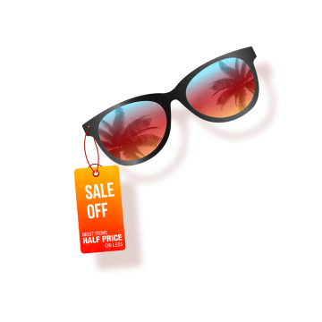 Goggles vector cool sunglasses. Sun tag download shading