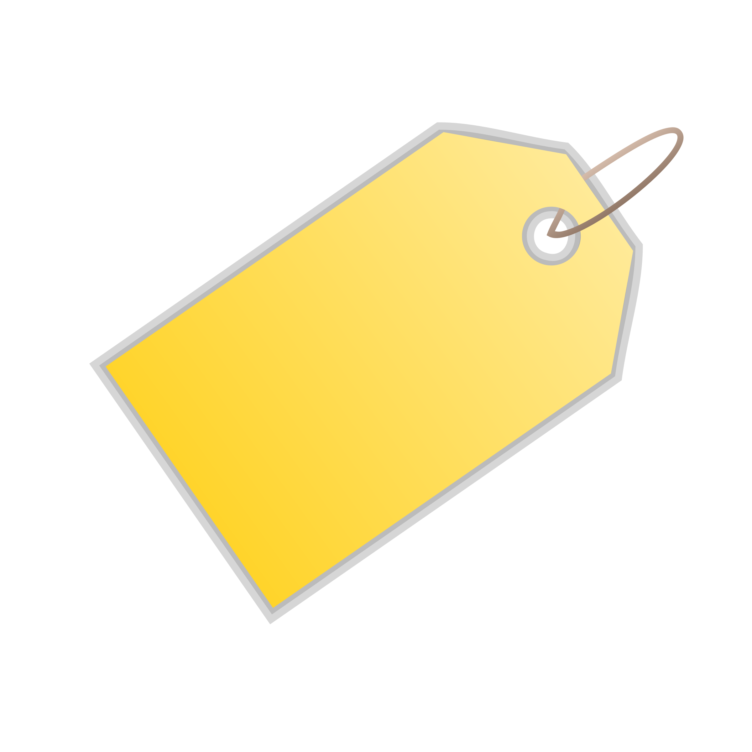 Blank sale tag png. Yellow price free icons