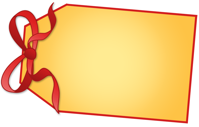 Present tag png