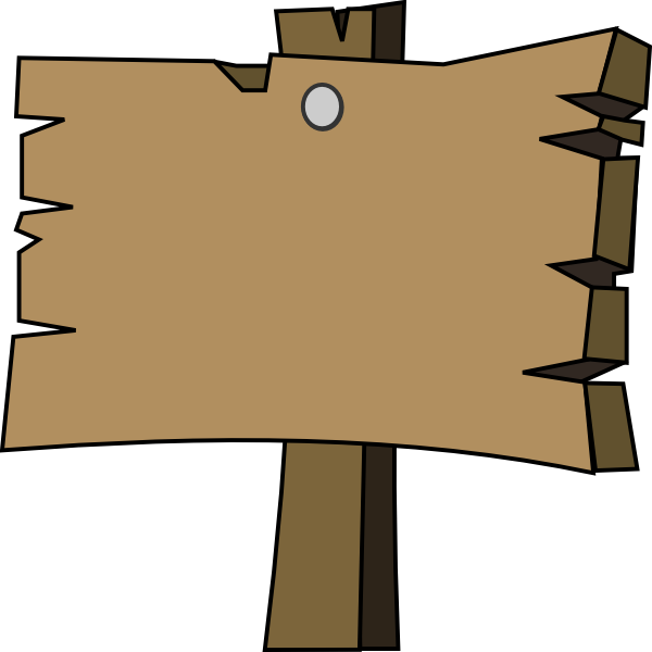 Sign png. Wood transparent pictures free