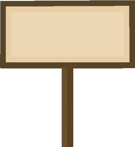 Minecraft sign png. Transparent images pluspng blank