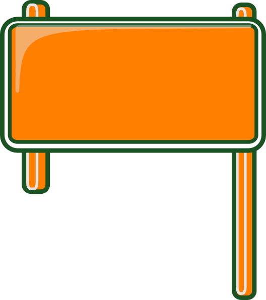blank road sign png