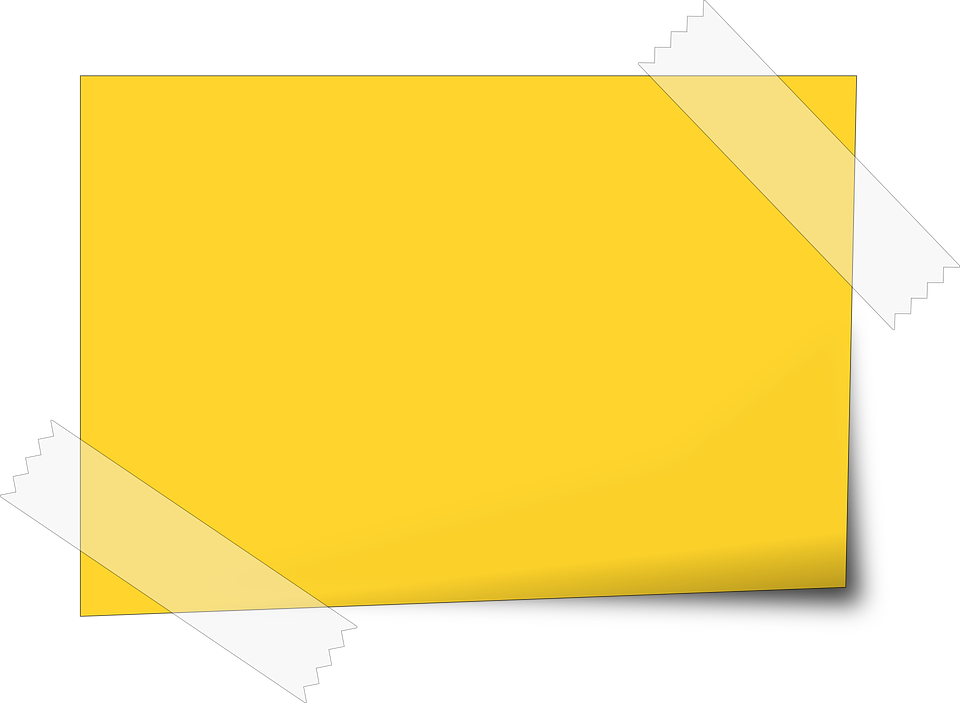 Post it notes png. Free image on pixabay