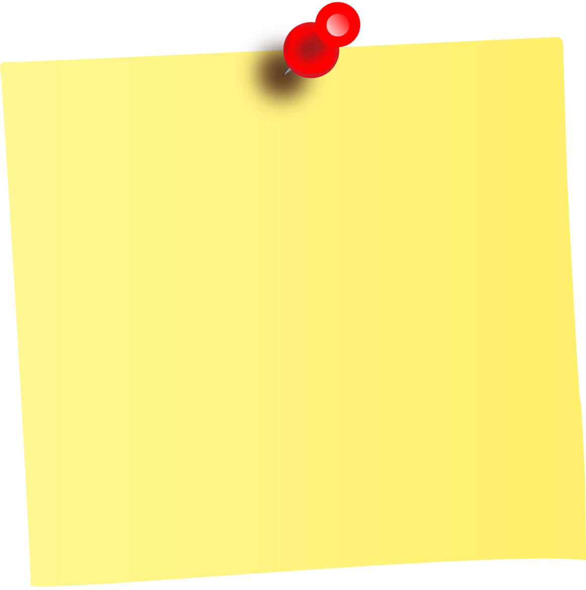 Blank sticky note png. Of a transparent images