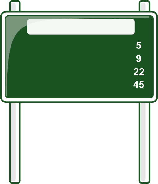 Blank street sign png. Blanks clip art at