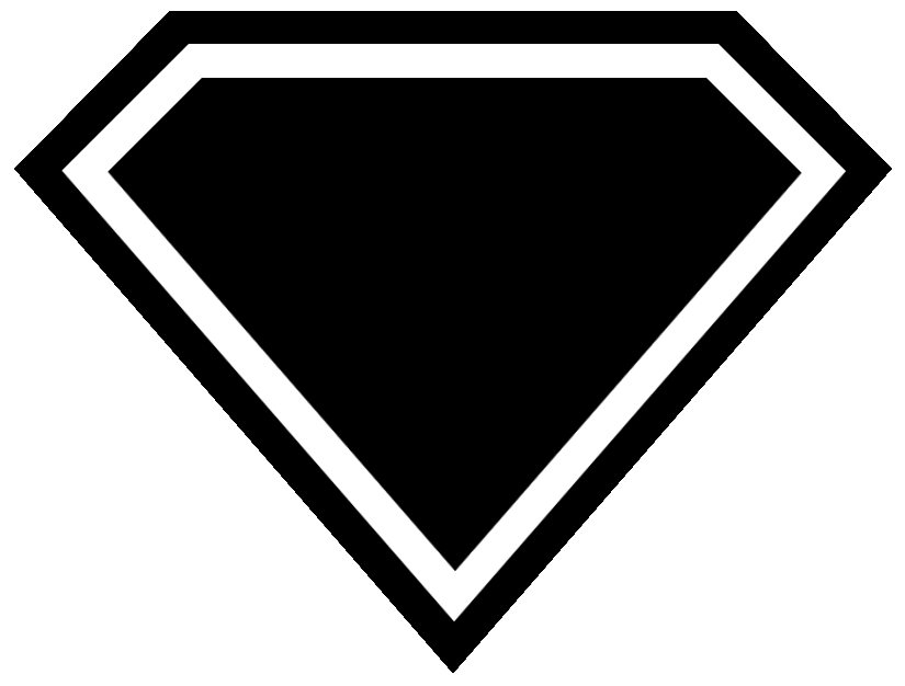 Blank superman logo png. Free download clip art