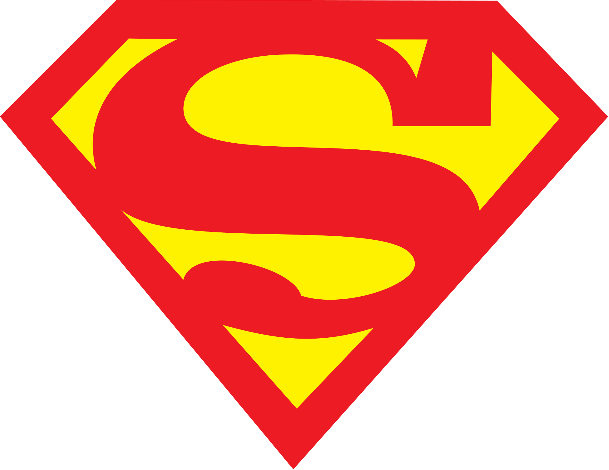 Blank superman logo png. Best hd vector cdr