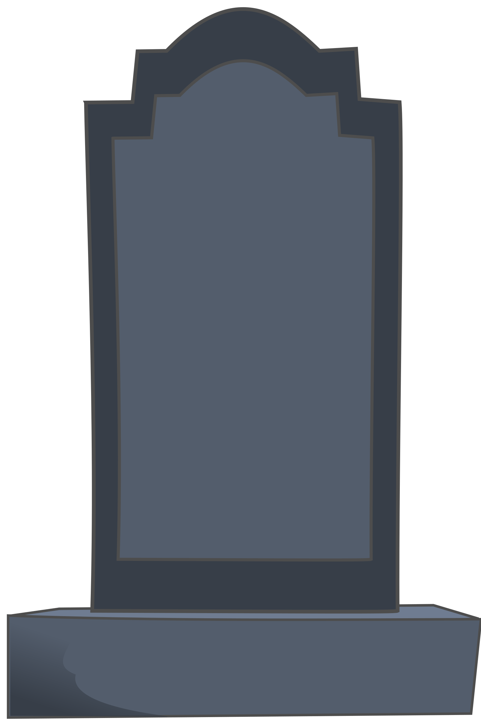 Blank tombstone png. Clipart l pide big