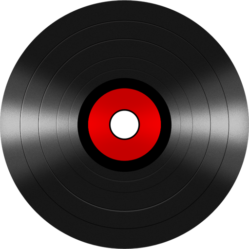 Blank vinyl record png. Free disc icon psd