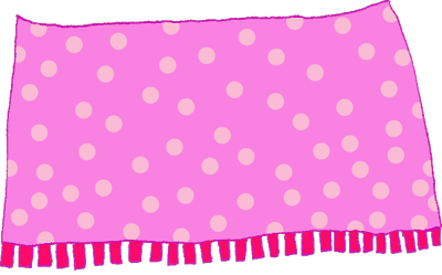 Pink clipart . Baby girl blanket png vector transparent download