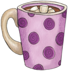Blanket clipart hot cocoa. Pin by kim hunt