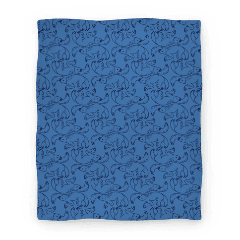Blanket png. Two toed sloth blue