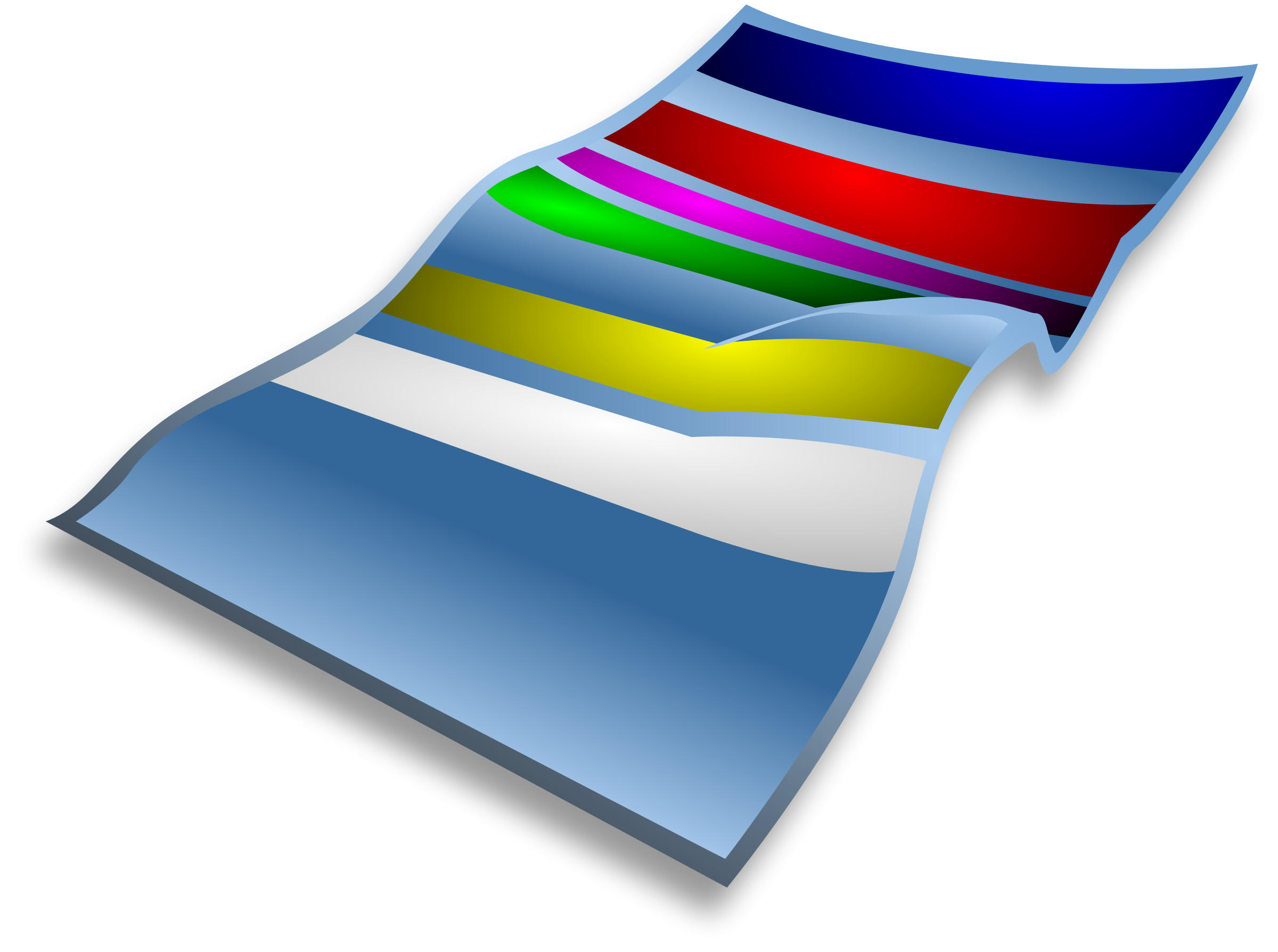 Blanket vector folded. Collection of free blanketing