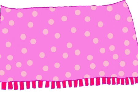 Blanket vector plush. Collection of free blanketing
