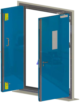 Blast door png. Medium heavy duty fire