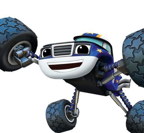 Blaze and the monster machines png. Darington from nick asia