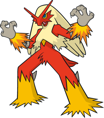 blaziken transparent normal