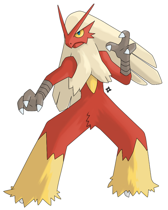 blaziken transparent anime