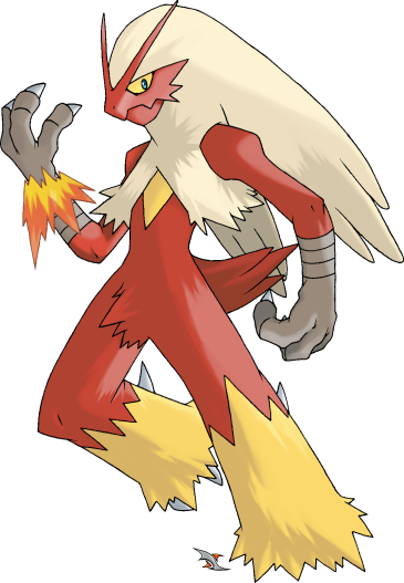 Blaziken transparent super. By xous deviantart com