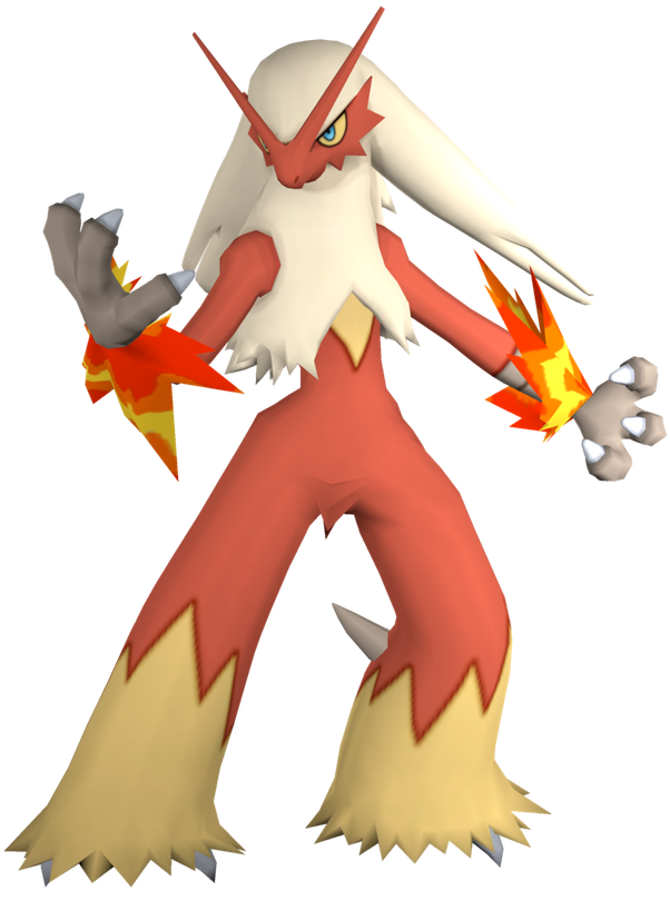 Blaziken transparent evil. What are the best